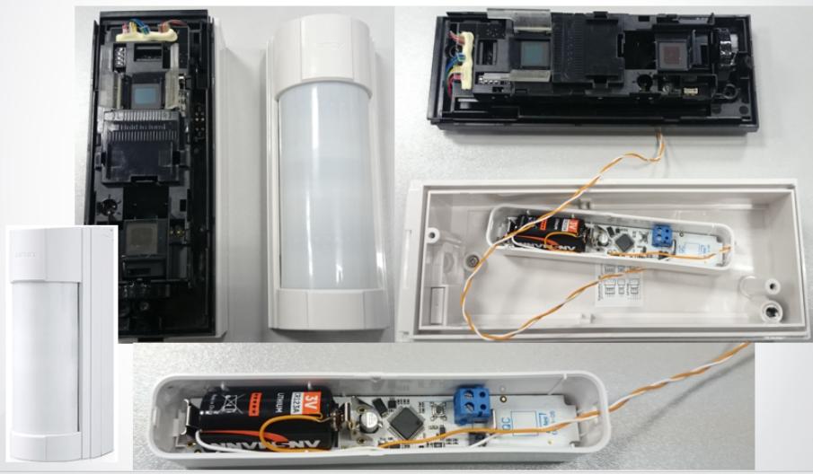Подключение уличного датчика Opteх VXI-R в экосистему ELDES при помощи беспроводного извещателя EWD3