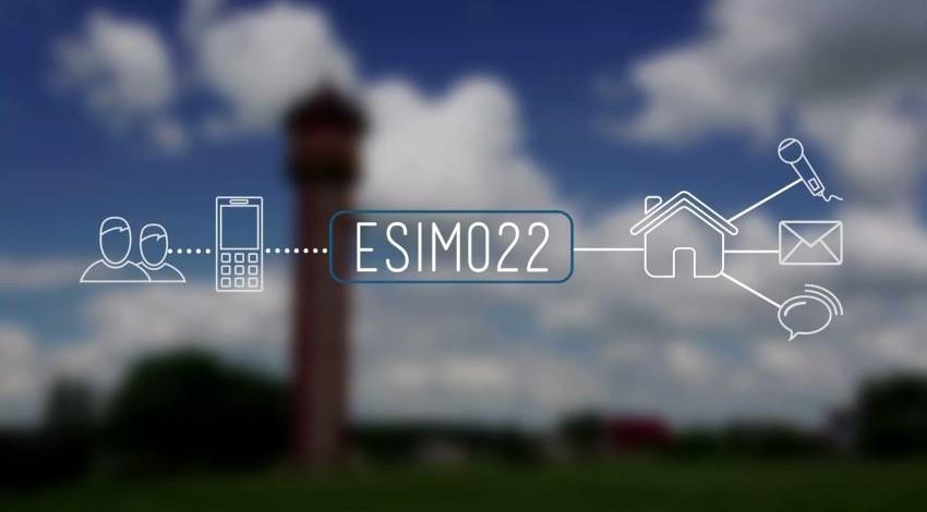 GSM auto dialler ESIM022 by Eldes