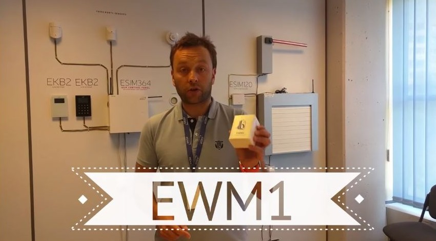 ELDES wireless power socket EWM1 video