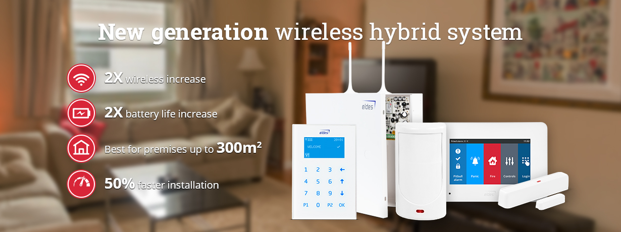 New Generation Of Wireless Systems Eldes Alarms