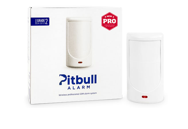 Pitbull Alarm PRO intrusion panel