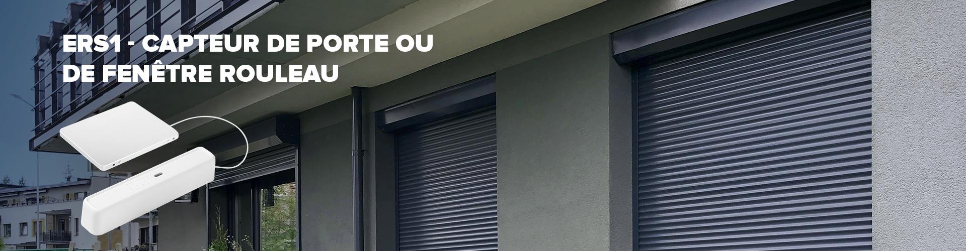 DÉTECTEUR DE FENÊTRE/PORTE ROULEAU ERS1