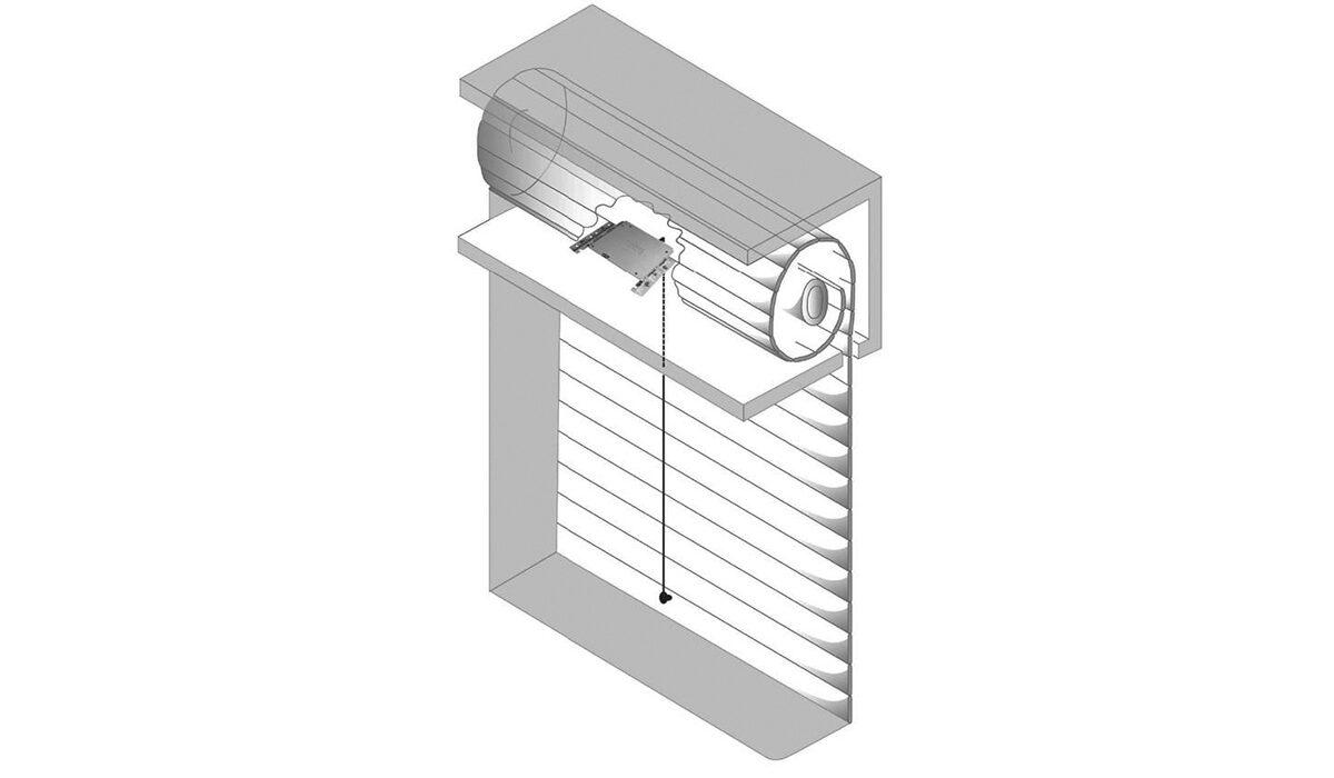 ERS1 roller shutter sensor