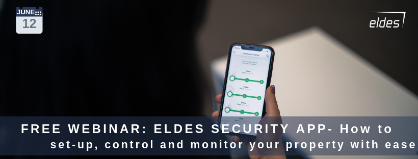 Join Free Webinar: ELDES SECURITY APP - How to set-up