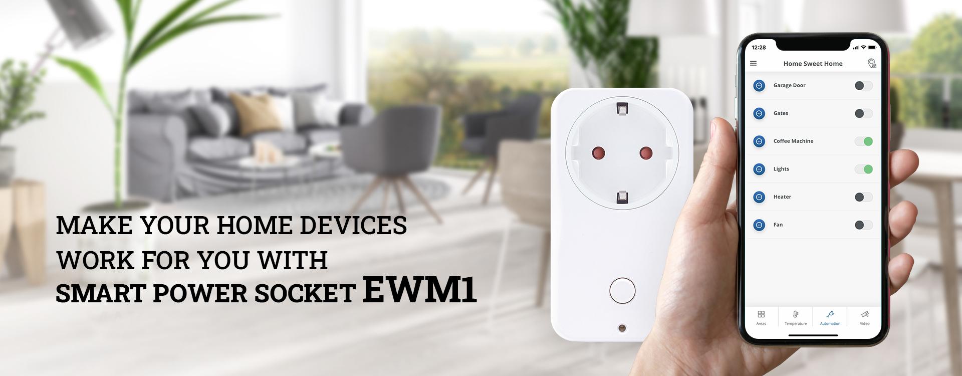 ELDES SMART POWER SOCKET EWM1